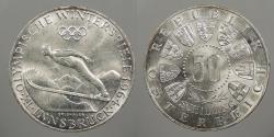 World Coins - AUSTRIA: 1964 Olympics 50 Schillings