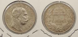 World Coins - HUNGARY: 1915 Korona