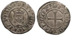 World Coins - SPAIN Mallorca (Majorca) Jaime II 1276-1285 and 1298-1311 Dobler (2 Diners) Choice EF
