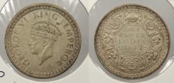 World Coins - INDIA: 1942(b) George VI Rupee
