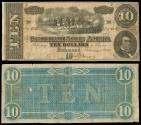 Us Coins - Richmond, VA Feb 11, 1864 10 Dollars