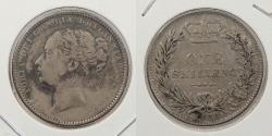 World Coins - GREAT BRITAIN: 1883 Victoria Shilling