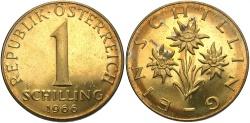 World Coins - AUSTRIA: 1966 1 Schilling
