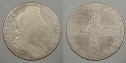 World Coins - ENGLAND: 1696 William III Halfcrown
