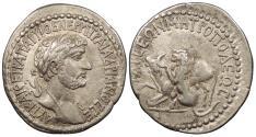 Ancient Coins - Cilicia Cilicia Pedias Tarsos Hadrian 117-138 A.D. Tridrachm Tarsos Mint Good VF ex. Garth R. Drewry collection, ex. Classical Numismatic Group sale 69, lot 1141 ($550 hammer price, June 2005).
