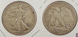 Us Coins - 1935-D Walking Liberty 50 Cents (Half Dollar)