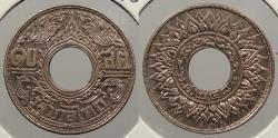 World Coins - THAILAND: BE 2484 (1941) 10 Satang