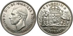 World Coins - AUSTRALIA: 1941 1 Florin