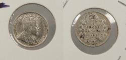 World Coins - CANADA: 1903-H Large 'H' 5 Cents