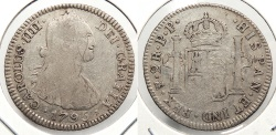 World Coins - BOLIVIA: 1795-PTS PP 2 Reales