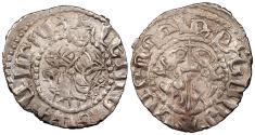 World Coins - ARMENIA Cilician Armenia Levon I, as King 1198-1219 Half Tram AU