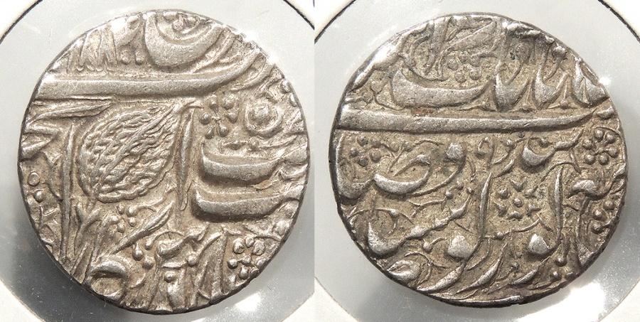 World Coins - INDIA: Sikh Empire VS1896 (1839) Rupee