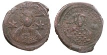 Ancient Coins - Michael VII, Ducas 1071-1078 A.D. Follis VF