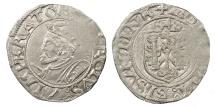 World Coins - FRANCE Besançon Charles V, as Holy Roman Emperor 1530-1556 Blanc 1548 EF