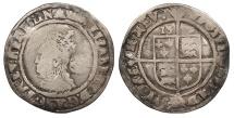 World Coins - ENGLAND Elizabeth I 1558-1603 Sixpence Fine