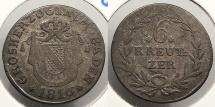 World Coins - GERMAN STATES: Baden 1816 6 Kreutzer