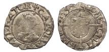 World Coins - FRANCE Besançon Charles V, as Holy Roman Emperor 1530-1556 1/2 Blanc 1549 Near VF