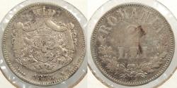World Coins - ROMANIA: 1873 2 Lei