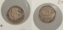 World Coins - CANADA: Newfoundland 1882-H 5 Cents