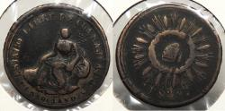 World Coins - MEXICO: Guanajuato 1829 1/8 Real