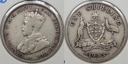 World Coins - AUSTRALIA: 1933 George V Shilling