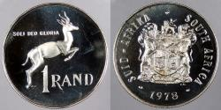 World Coins - SOUTH AFRICA: 1978 Rand Proof