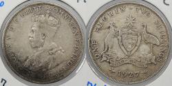World Coins - AUSTRALIA: 1927 Florin