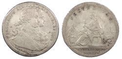World Coins - ITALIAN STATES Naples Ferdinand (Fernando) IV 1772 120 Grani (Grana) VF