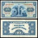 World Coins - GERMANY (WEST) Federal Republic Allied Occupation 1948 10 Deutsche Mark VF+