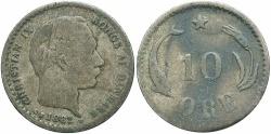 World Coins - DENMARK: 1882 10 Ore