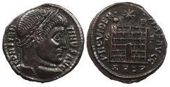 Ancient Coins - Constantine I, the Great 307-337 A.D. Follis Arles Mint Choice EF