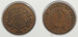 Us Coins - 1871 2 Cents 2 Cents