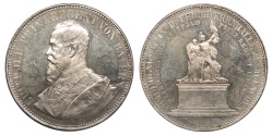 World Coins - GERMAN STATES Bavaria By A. Börsch Luitpold (Leopold) 1892 AR Medallic 2 Talers Proof