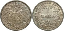 World Coins - GERMANY: 1910-E 1 Mark