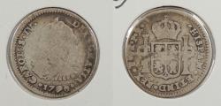 World Coins - BOLIVIA: 1790-PTS PR Charles IV Real