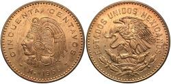 World Coins - MEXICO: 1959-Mo 50 Centavos