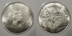 World Coins - LUXEMBOURG: 1963 250 Francs