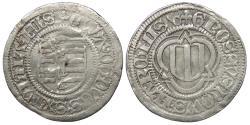 World Coins - GERMANY Saxony Duchy and Elector Spitzgroschen 1478 EF