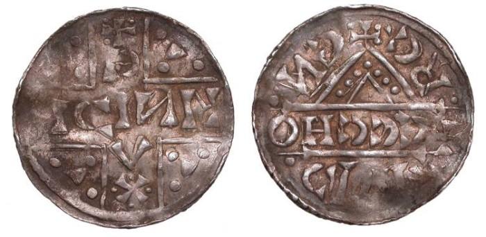 World Coins - GERMAN STATES Bavaria Regensburg Heinrich V 1018-1026 Denar  Good VF