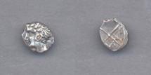 Ancient Coins - Gaul, Massalia, after 400 BC, AR Obol (0.7g)