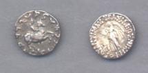 Ancient Coins - Bactria, Antimachos, 171-160 BC, AR Drachm (2.4g)