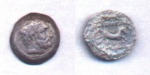 Ancient Coins - Bactria, Euthydemos, 230-190 BC, AE Chalkous (21mm)