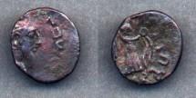 Ancient Coins - Indo-Parthians, Province of Arachosia, Abdagases, AD 55-100/110, AE Tetradrachm