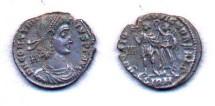 Ancient Coins - Constantius II, as Augustus, AD 337-361, AE Centenionalis, struck under Vetranio