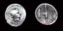 Ancient Coins - C. Norbanus, 83BC, AR Denarius (3.82g)