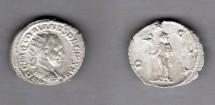 Ancient Coins - Trajan Decius, AD249-251, AR Antoninianus (4.1g)
