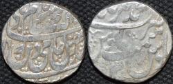 Ancient Coins - ROHILLAS: Faizullah Khan Silver rupee in name of Shah Alam II, Muhammadnagar, RY 12. UNPUBLISHED and CHOICE!
