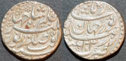 World Coins - INDIA, MUGHAL, Jahangir (1605-28) Silver rupee naming Nur Jahan, Patna, RY 22, AH 1037. SCARCE and SUPERB!