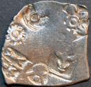 Ancient Coins - INDIA, MAGADHA: Series I AR punchmarked karshapana GH 208. RARE and CHOICE!