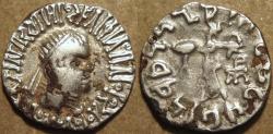 Ancient Coins - Indo-Greek: Apollodotus II AR drachm